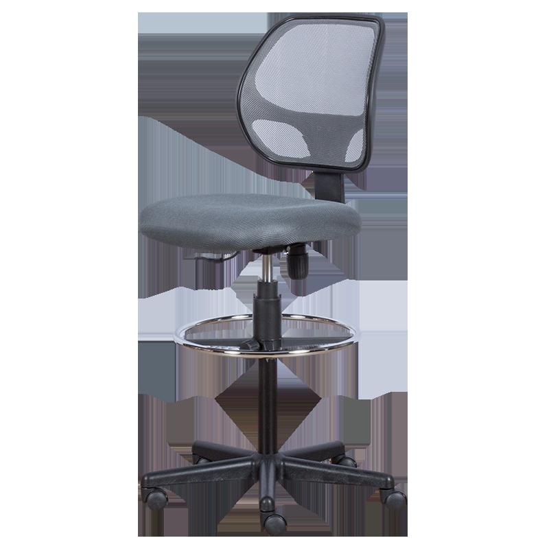 офис стол venera extend ring меш черен