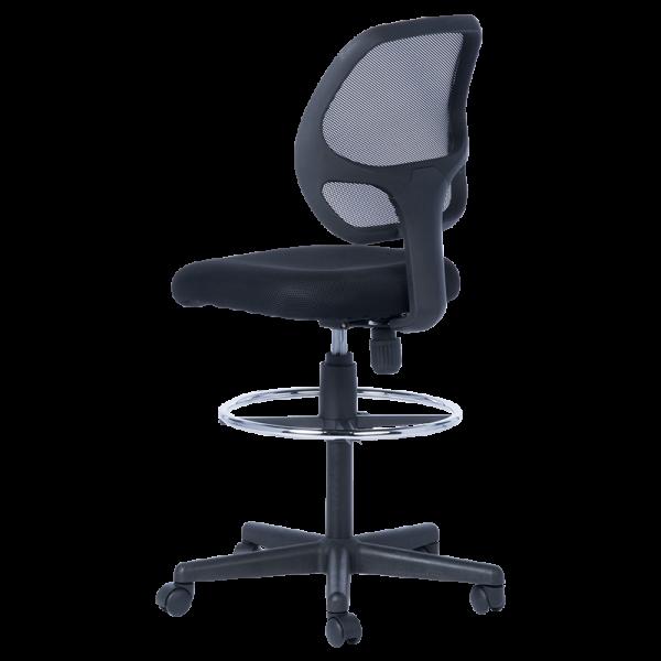 работен стол venera ii 7553 + extend ring меш сив