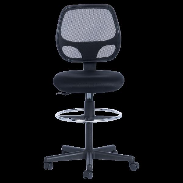 работен стол venera ii 7553 + extend ring меш черен