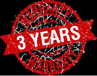 3 години гаранция