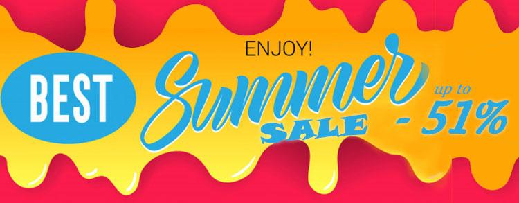 Best Summer Sale up to -51%